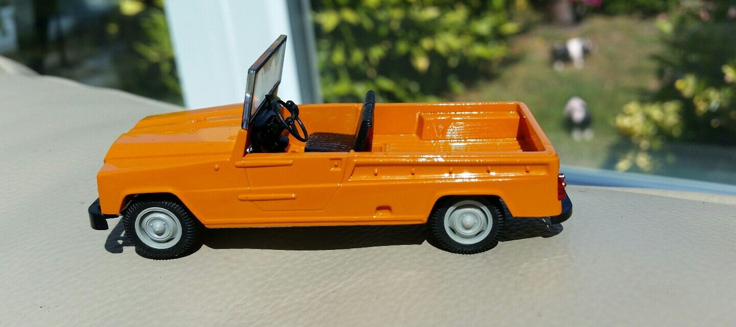 Very Rare 1 43 Diecast Renault Rodeo 1971 Boxed Cased Norev In Perfect Condition