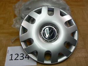 Original-VW-Radkappen-15-Zoll-Polo-Radzierblenden-4-Stueck-ArNr-1234-6Q0601147N