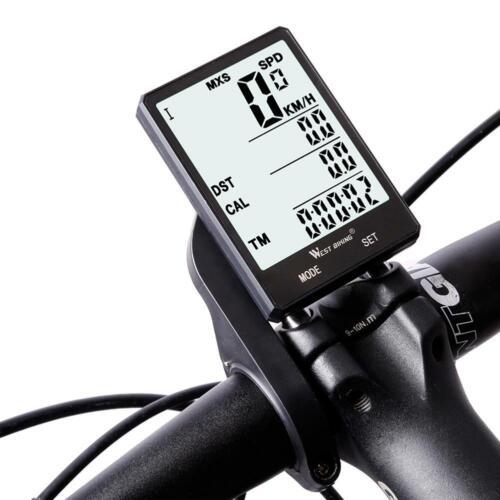 WEST BIKING Bike Bicycle Computer Rainproof Wireless Wired Speedometer Odometer