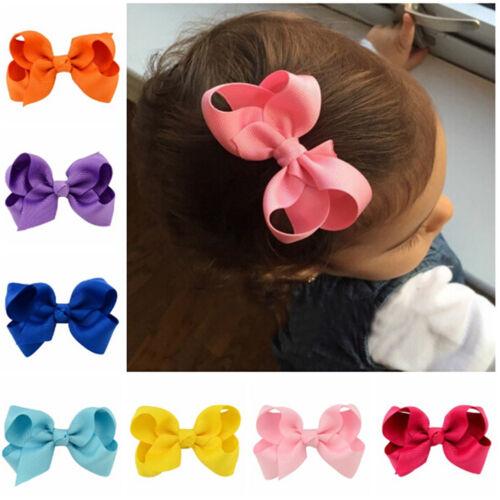 20pcs Kids Baby Girls Children Toddler Flowers Hair Clip Bow Accessories ^S