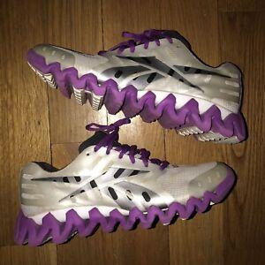sports shoes 46c57 5a31e Details about Reebok ZigTech Running Shoe Women Size 9.5 NEED  FUNDS.nike.purple.jordan.yeezy.1
