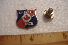 ~LASALLE POLICE~TIE-TAC PIN~