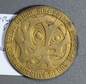 U0062-1962-Medal-Century-21-expo-in-Seattle-combine-shipping