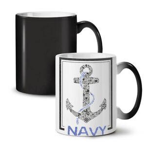 Navy Anchor Sea Vintage NEW Colour Changing Tea Coffee Mug 11 oz | Wellcoda