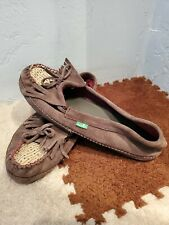 SANUK Women/'s Shy Anne Slip On Casual Moc Moccasin Loafer Shoes Chocolate