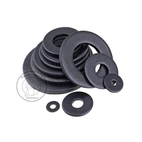 M2~M27//Black Carbon steel Washers Flat Finish Washer