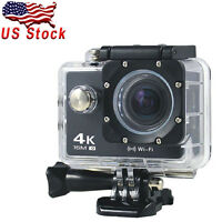 At-30 Ultra Hd 4k 16mp Sports Action Camera Wifi Waterproof Full Color 2.0'' Lcd