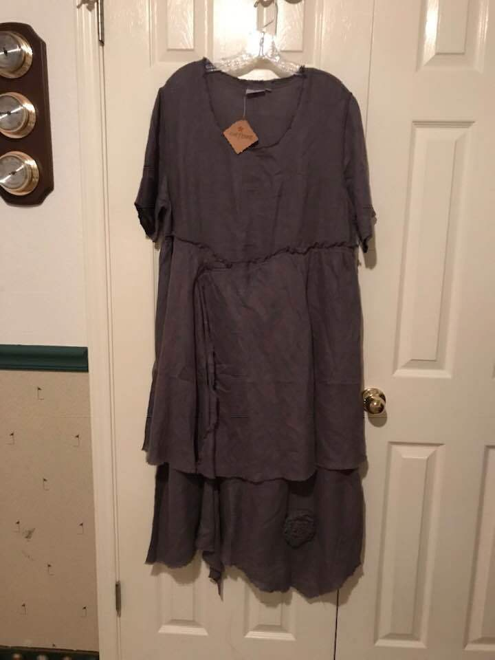 CHEYENNE Art To Wear Gauze Dress Größe Small Medium New With Tags