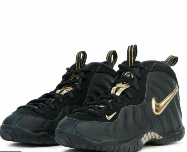 Nike Little Posite Pro Foamposite Black