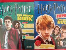 Item 2 HARRY POTTER COLORING BOOKS Includes Posters Bookmarks Stickers NEW