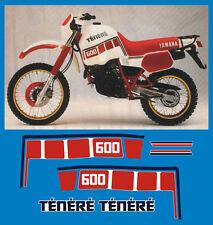 YAMAHA XT 600 Z TENERE 1VJ 86 serbatoio  - adesivi/adhesives/stickers/decal
