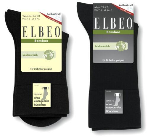 ELBEO Bambus Sensitive Diabetikersocken EXTRA weicher Softbund Gesundheitssocke
