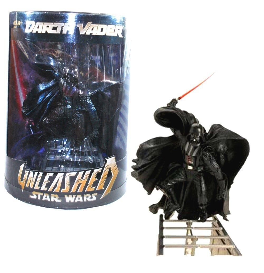 NEW STAR WARS REVENGE OF THE SITH DARTH VADER UNLEASHED BEST BUY EXCLUSIVE MOC