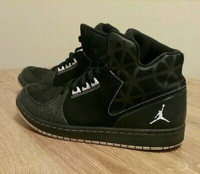 Nike Jordan 1 Flight 3 Mens Shoes 2015 Athletic Black Lace Up 706954-011 Sz 9.5   eBay