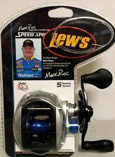 Lew's Baitcasting Fishing Reel MKR1SH 7.1:1 Gear Ratio Speed Spool Mark Rose