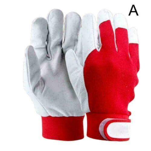 Finger Weld Monger Welding Gloves Heat Shield Cover BEST Red Protection Gua N7S4