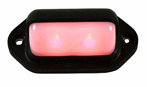 Compact 12vdc Fixture Tru Waterproof Red LED LED Convenience Courtesy Light