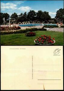 Ansichtskarte Scheeßel Freibad Schwimmbad Sommerbad 1970