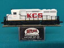 47505 Atlas N Scale Gp30 Kansas City Southern