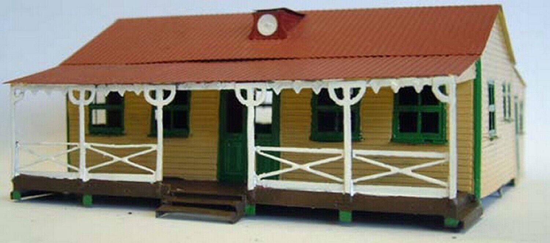 Cricket Pavilion Style costruzione OO Scale UNPAINTED Kit F162 Langley modellos