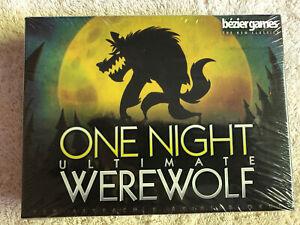 One Night Ultimate Werewolf Card Game Bezier 689070013563