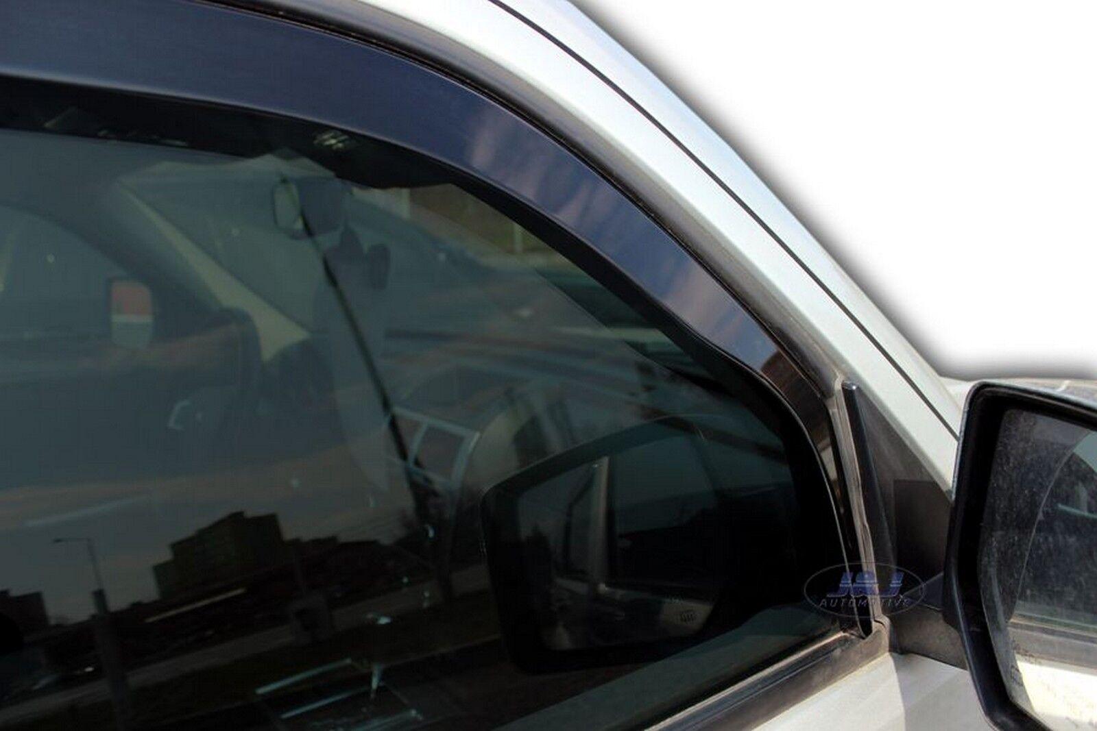 DODGE NITRO 5-doors 2007-2011 4-pc wind deflectors HEKO Tinted