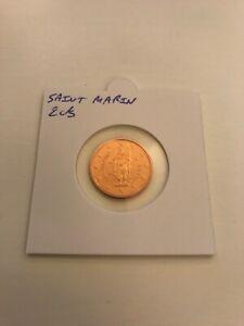 Saint Marin 2013 2 cts centimes d'euro BU FDC provenant du coffret BU RARE