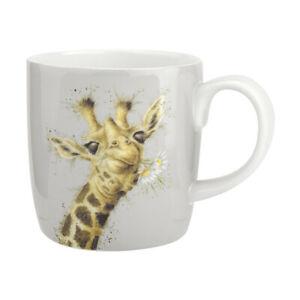 Wrendale-Flowers-Giraffe-Boxed-Mug