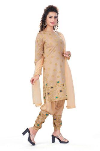 Mesdames Made Brocade Dusty Rose Indien partywear asiatique Designe Costume