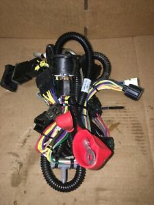 John Deere X300 Lawn Mower Tractor Wiring Harness W/Ignition Switch &  Solenoid!   eBayeBay