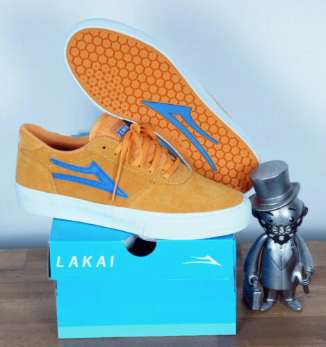 Lakai Footwear Skate Schuhe Shoes Manchester Mandarin Suede 8,5//42