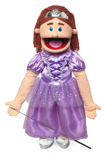 Silly Puppets Princess 25 Full Body Puppet Ventriloquist Style Puppet (Peach)