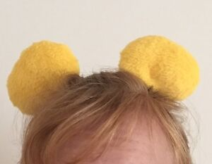 Image is loading Bear-Clip-on-Ears-Inspired-by-Winnie-the- e9203495b