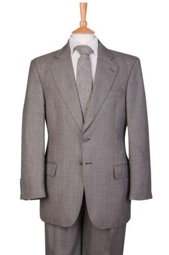 abito Pantaloni uomo da da giacca di salotto pezzi uomo grigio in con da abito da 2 TBgFT74xqw