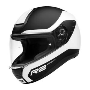 NEU-Schuberth-Motorradhelm-R2-Nemesis-white-matt-Gr-L-58-59-Sport-Helm