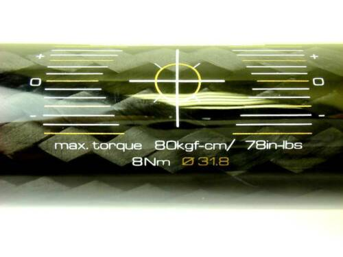 BIKE BICYCLE CARBON FLAT HANDLEBAR 31.8mm X590mm TAIWAN