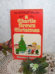A Charlie Brown Christmas Book.Details About Charlie Brown Christmas By Charles M Schulz 1965 Book