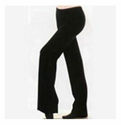 Bal Togs 13425 Black Girl/'s Size Large 12-14 Straight Leg Yoga Jazz Pants
