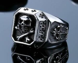 bague homme pirate