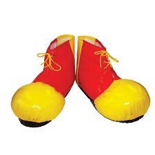 Clown Schuhüberzieher. Erwachsene - Große Kunststoff-zirkus Schuhstiefel Fancy