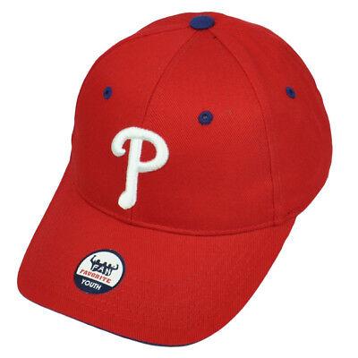 Baseball & Softball Diskret Philadelphia Phillies Jugendliche Fan Favorite Rot Kappe Baseball Einstellbarer Perfekte Verarbeitung
