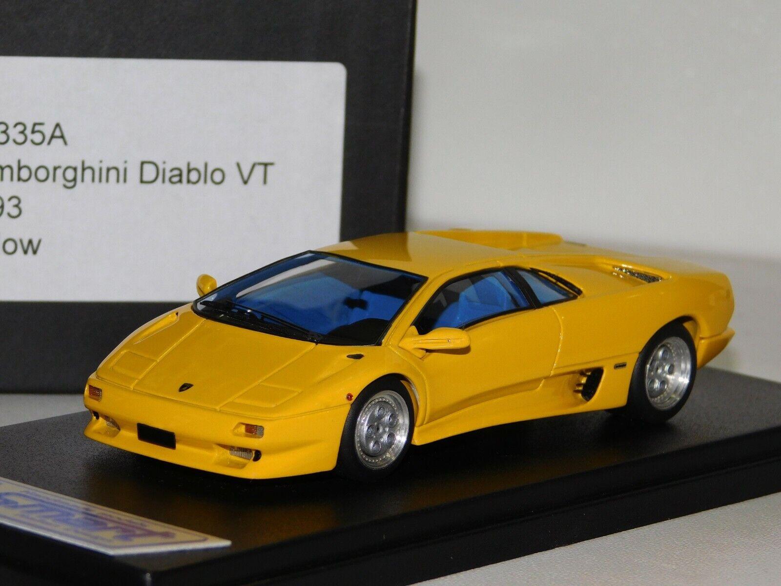 Lamborghini Diablo VT 1993 jaune LOOKintelligent LS335A 1  43  jusqu'à 42% de réduction