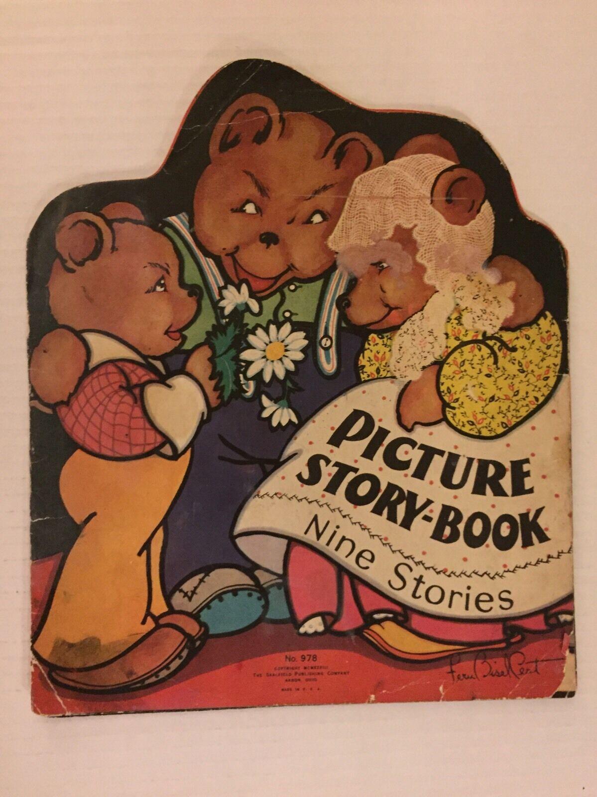 Vintage nueve historias Foto Historia Libro-saalfield