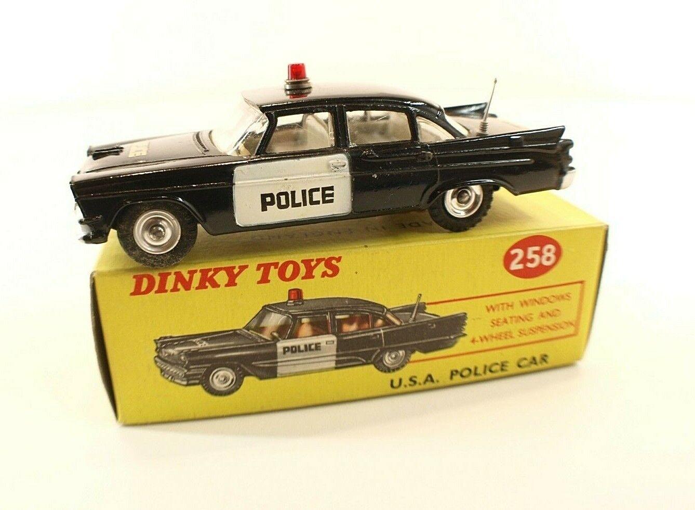 Juguete Dink GB 258 Dodge Royal auto de de de la policía americana 777