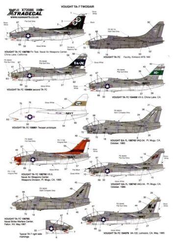 Xtradecal 1//72 Vought TA-7C Corsair twosair #72086