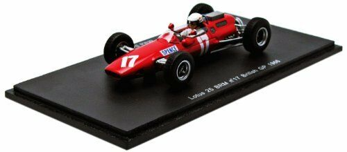 Lotus 25 Brm M.spence 1966  17 Retirot British Gp 1 43 Model S1853 SPARK MODEL  | Outlet