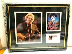 VTG-JERRY-GARCIA-Driver-039-s-License-Grateful-Dead-Stanley-Mouse-Framed-Art-Picture