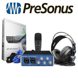 Details about PreSonus AudioBox 96 Studio Home Recording USB MIDI Audio  Interface + Software