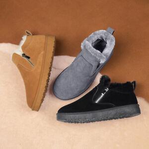 Damen-Ankle-Boots-Stiefel-Schneestiefel-Winterstiefel-Winterschuhe-Stiefeletten