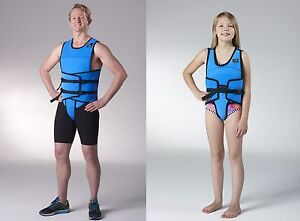 Hydro-Fit Wet Vest II Water Therapy Cross Train Suit Thermal Float Resistance